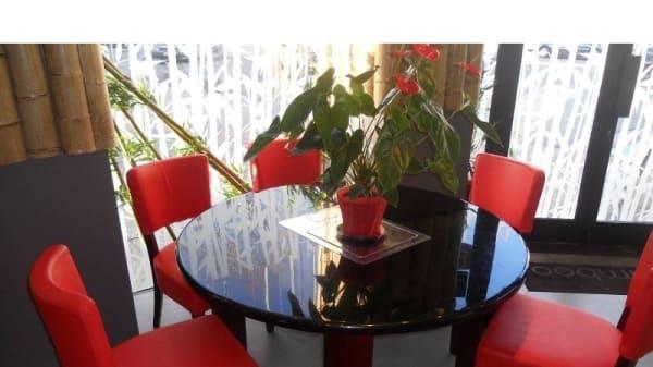 Tables dressées - Bamboo, Joinville-le-Pont