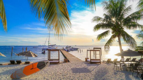 Terraza - Zama Beach Club, Isla Mujeres