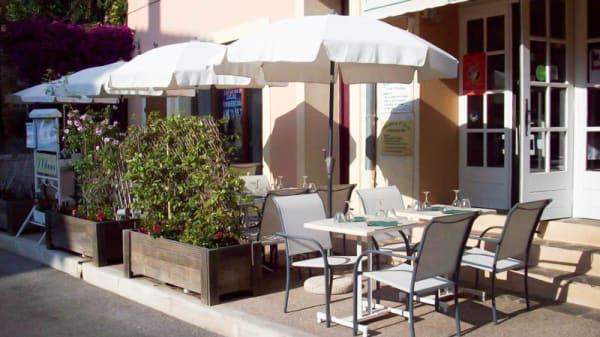 Terrasse - L´Olivier, Bormes-les-Mimosas