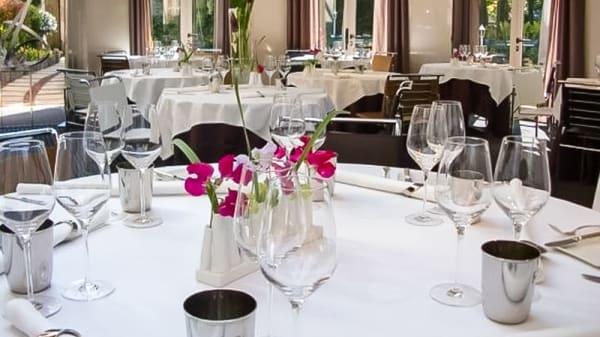 Table dressée - Les Prémices, Bourron-Marlotte