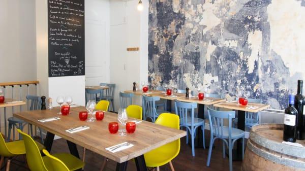 Salle du restaurant - Chai Vous, Paris
