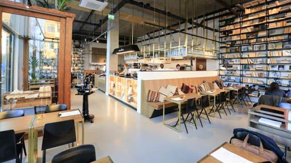 Het restaurant - Vascobelo V-bar Stadionplein, Amsterdam
