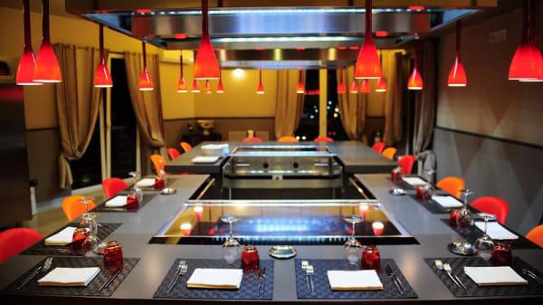 Vista sala - Bonsai Sushi bar & Teppanyaki Restaurant, Giffoni Sei Casali