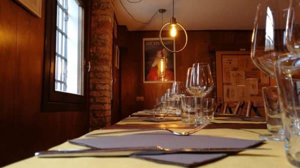 particolare tavolo - Osteria Bakàn, Venice