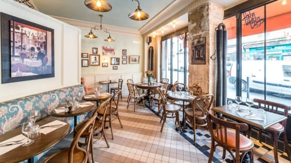 Salle du restaurant - Café Colette, Paris