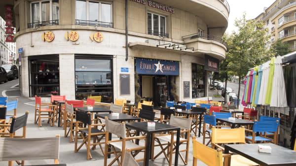 Façade - L'Etoile Blanche, Lausanne