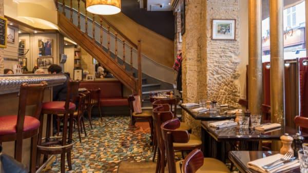Vue de la salle - Café Constant - Christian Constant, Paris