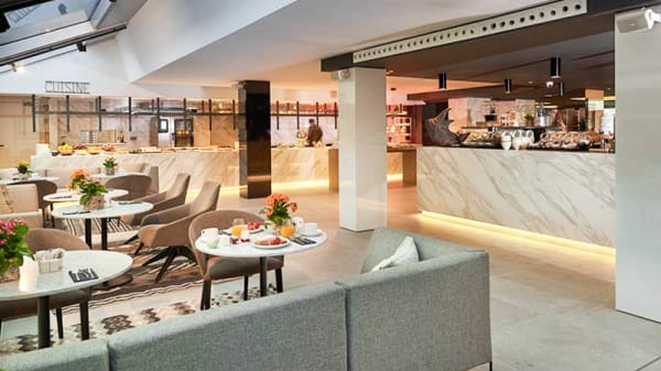 Zona sala - SYNDEO Lounge & Restaurant - Hotel INNSIDE Palma Bosque, Palma de Mallorca