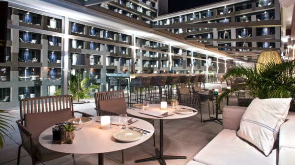Syndeo Lounge Restaurant Hotel Innside Palma Bosque In Palma De Mallorca Restaurant Reviews Menu And Prices Thefork