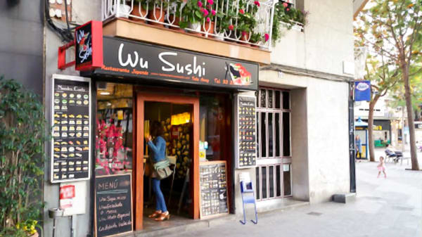 Entrada - wu sushi, Castelldefels