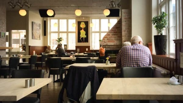 Restaurangens rum - Cafe & Restaurant Kokkenes, Skagen