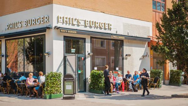 Ingang - Phils Burger Uppsala, Uppsala