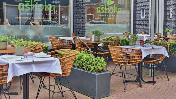 Sunny Terrace of Ashoka - Ashoka - Amsterdam Centrum (Indian & Nepali restaurant), Ámsterdam