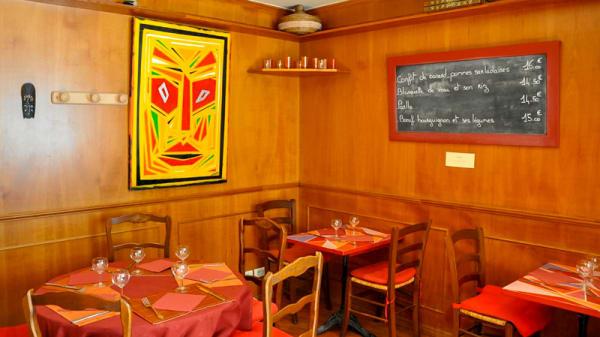 Vue de la salle - Chez Marine, Paris
