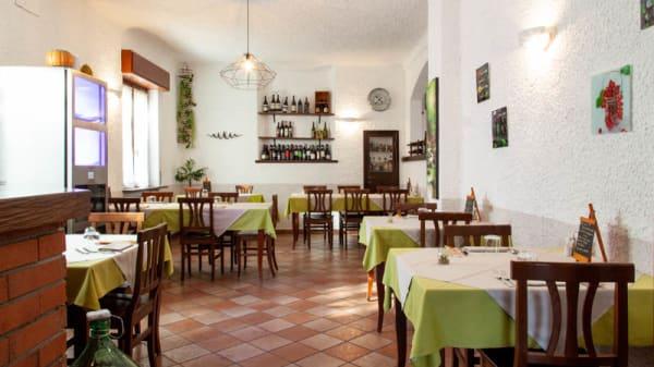 Vista sala - Fiore di Zucca - Trattoria Moderna, Corneliano Bertario