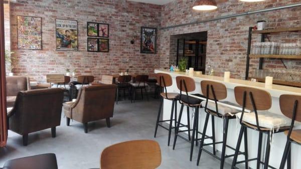 Innenansicht - Shadow Bean Café & Bar, München