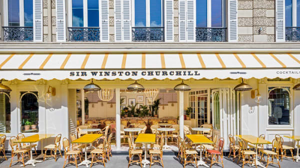 Terrasse - Sir Winston, Paris