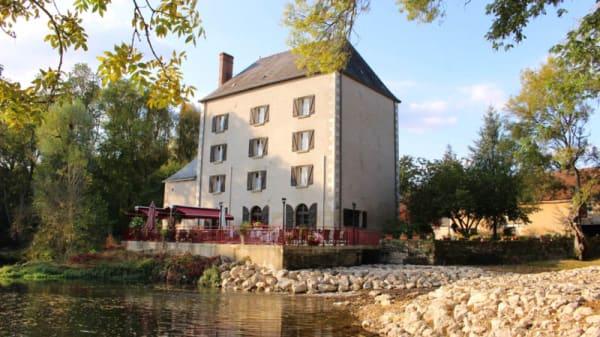 Devanture - Le Moulin Fleuri, Veigné