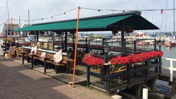Het restaurant - De Visscher, Marken