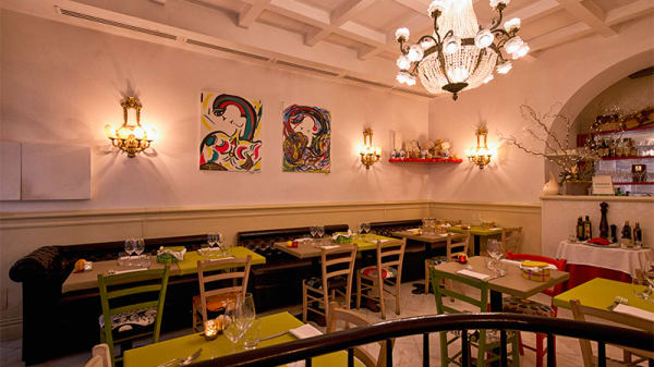 La sala - Sensus Restaurant, Roma