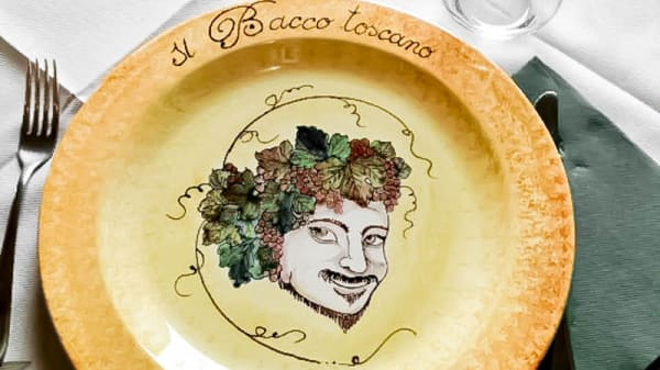 piatto - Il bacco toscano, Sesto Ed Uniti