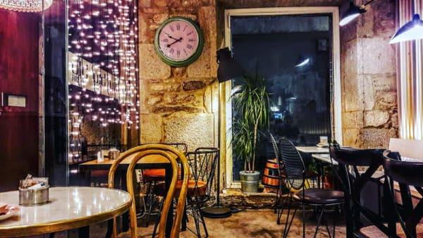 Sala del restaurante - Blu Cafe, Santiago de Compostela