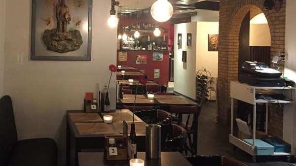 Het restaurant - Joe's Burger, Leiden