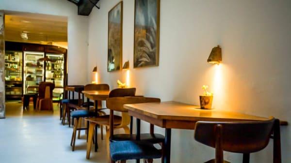 Vue de la salle - Café Ineko, Paris