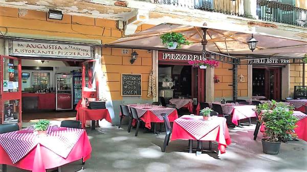 Vista tavoli all'aperto - Da Augustea a Trastevere, Rome