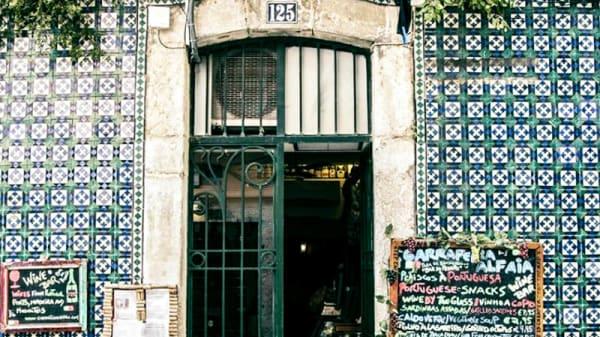 Entrada - Garrafeira Alfaia, Lisbon