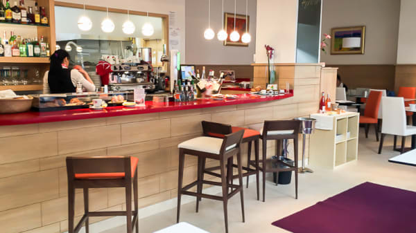 Vista sala - Apricot Gastro Café, Madrid