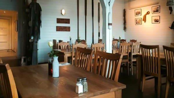 Restaurangens rum - Grebys Fisk & Skaldjursrestaurang, Grebbestad