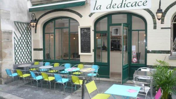 Terrasse - La Dédicace, Paris