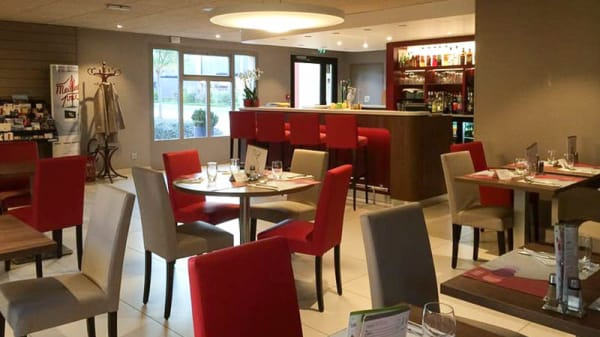 Salle du restaurant - Campanile Reims Ouest Tinqueux, Tinqueux