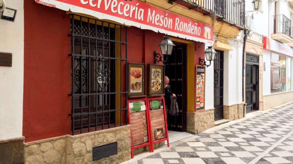 Entrada - Meson Rondeño, Ronda