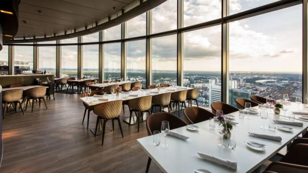 Main Tower Restaurant & Lounge, Frankfurt
