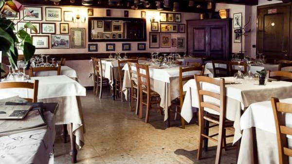 sala - Osteria della Darsena, Pavia