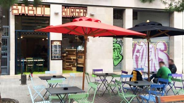 Terraza - Babol Burger, Barcelona