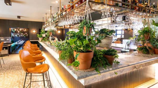Het restaurant - Oriole garden bistro, Ámsterdam