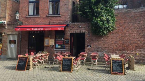 't Walpoortje, Bruges