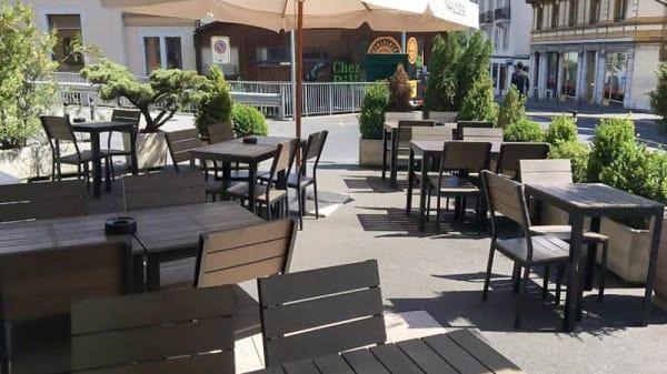 Terrasse - Chez Bilia, Montreux