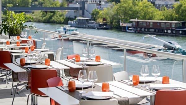 Terrasse - Octave Restaurant, Boulogne-Billancourt