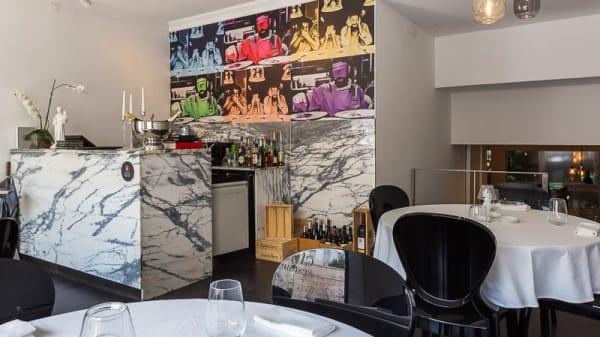 Sala do restaurante - Bagos Chiado, Lisboa