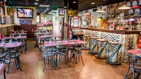 COMEDOR - Pizzeria Afrika, El Prat De Llobregat