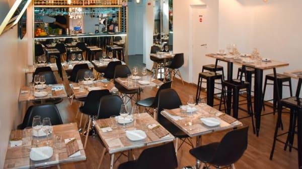Vista da sala - Leve Leve Tapas Bar, Lisbon