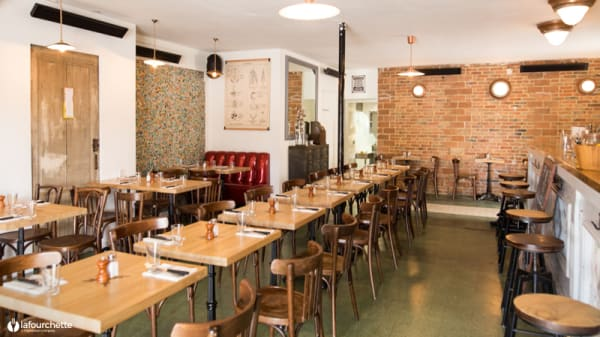 Salle du restaurant - Le Taquin, Bordeaux