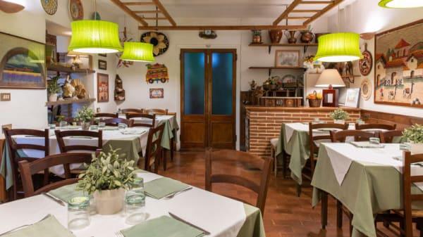 Vista della sala - Il Picchio Allegro, Rieti