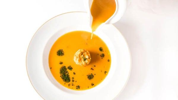 sugerencia del chef - Restaurante Enxebre - Parador de Pontevedra, Pontevedra