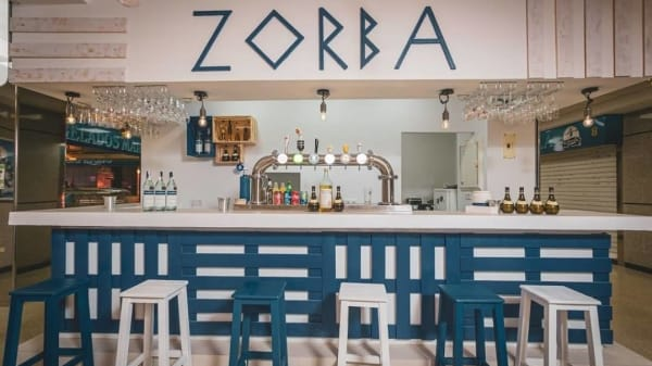 Zorba comida Griega, Madrid