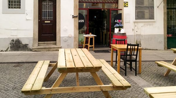 Esplanada - Piparoza - Boutique Bar, Évora